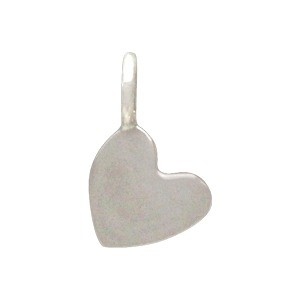 Sterling Silver Tiny Heart Dangle Charm