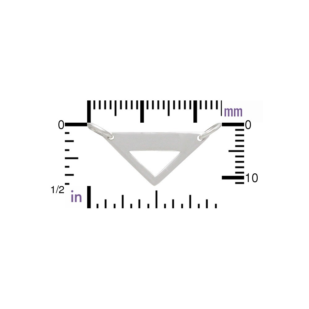 Wide Triangle Festoon with Triangle Cutout DISCONTINUED