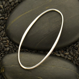Jewelry Supplies - Sterling Silver 3X Large Oval Link