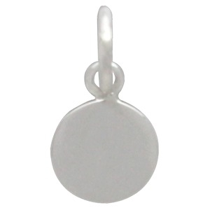 Silver Moon Charm with Bronze Last Quarter  DISCONTINUED