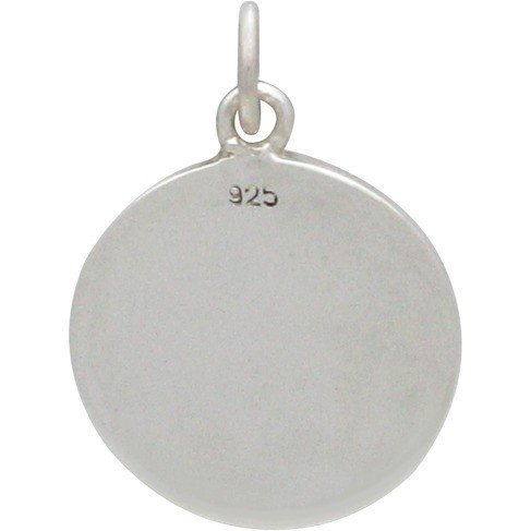 Silver Word Charm - You are my Sunshine Charm 22x15mm
