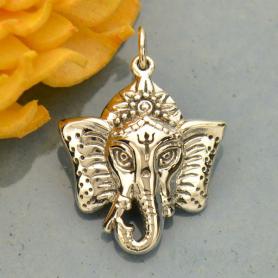 Ganesh Pendant - Elephant Headed God Symbolizing Wisdom