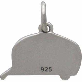 Sterling Silver Camping Trailer Charm