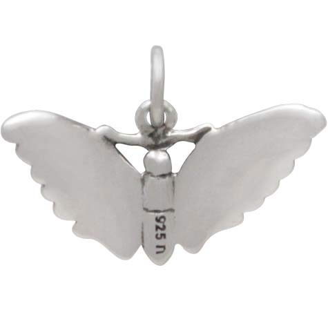 Sterling Silver Butterfly Moth Charm