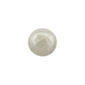 Sterling Silver Bead - Round Hammered Bead