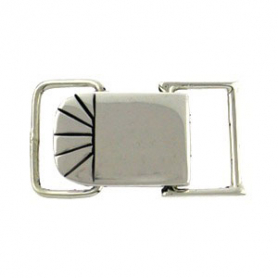 Sterling Silver Square Snap Clasp