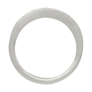 Sterling Silver Open Circle Post Earring 10x10mm