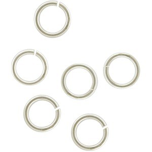 Sterling Silver Jump Rings - 6mm Open