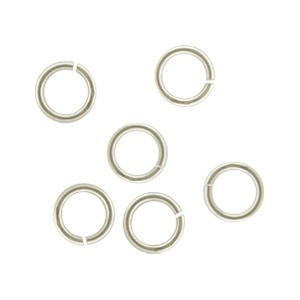 Sterling Silver Jump Rings - 5mm Open