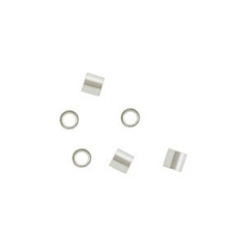 Sterling Silver Crimp Beads - 2x2mm