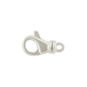 Sterling Silver Lobster Swivel Clasp -12mm