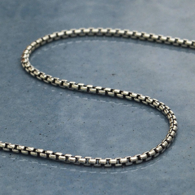 Silver Chain by the Foot - Heavy Cable Chain DISCONTINUED
