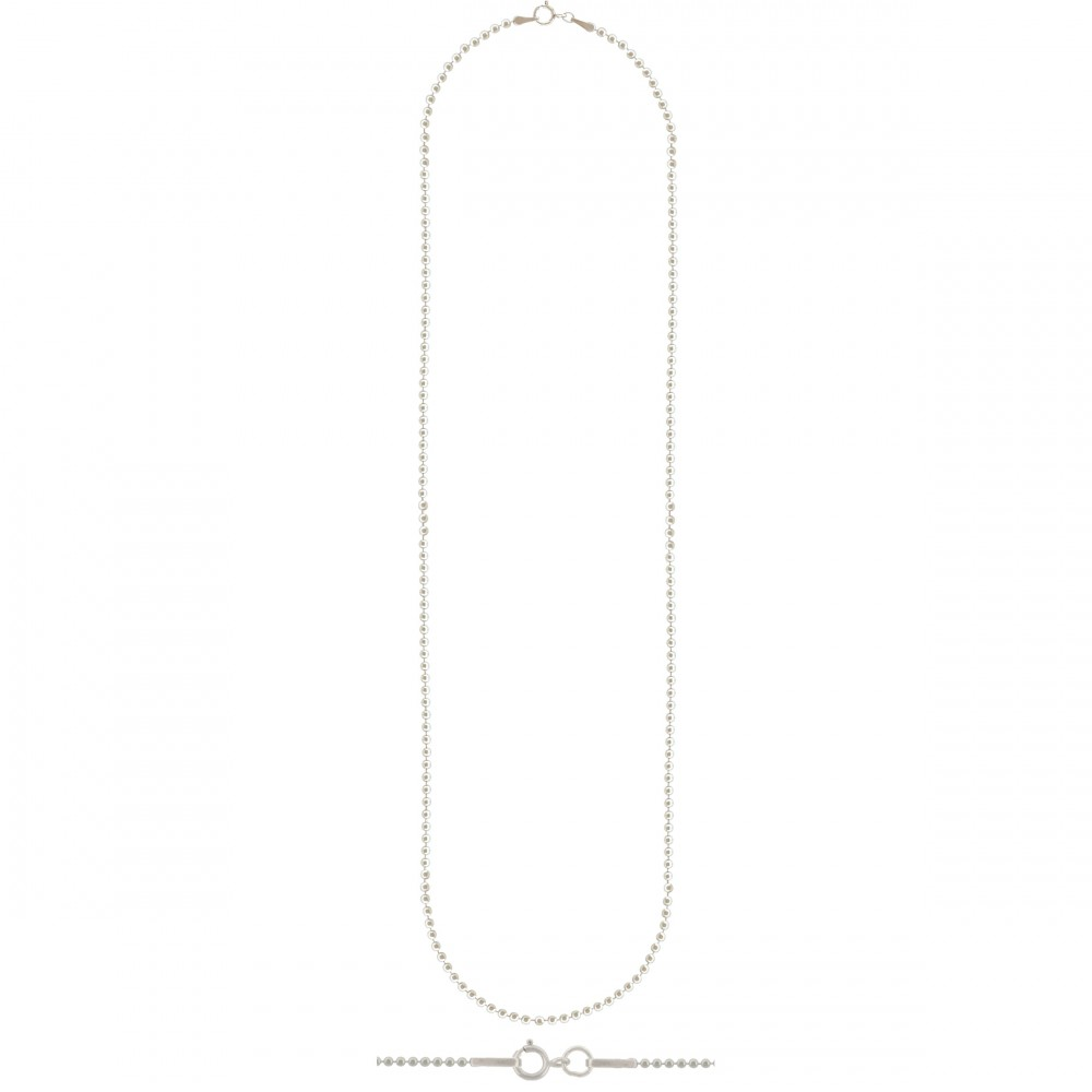 Sterling Silver 16 Inch Chain - Ball Chain