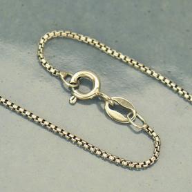 Sterling Silver 18 Inch Chain - Box Chain