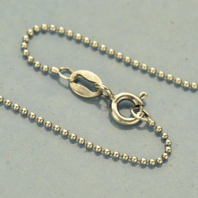 Sterling Silver 18 Inch Chain - Delicate Bead Chain