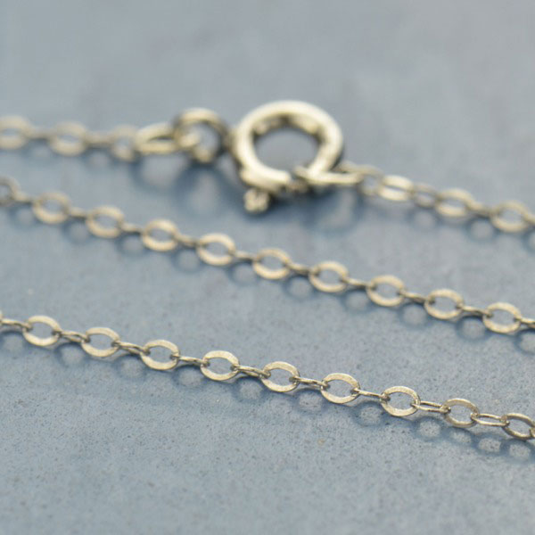 Sterling Silver Cable Chain 24