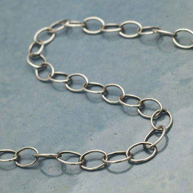Sterling Silver Chain by the Foot - Extender Chain
