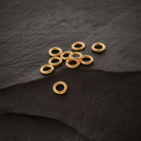 Gold Filled Jump Ring - 4mm open