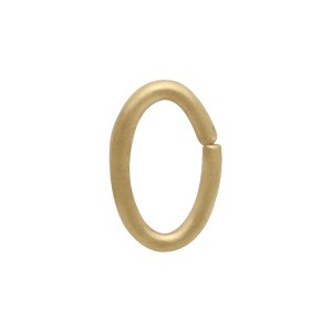 14K Gold Fill Jump Ring - 6mm Oval
