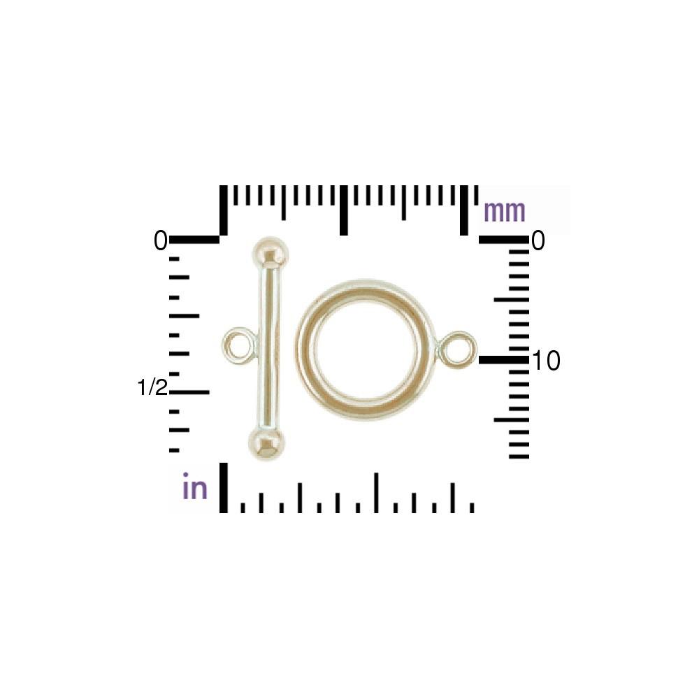 Medium Toggle Clasp - 14K Gold Filled