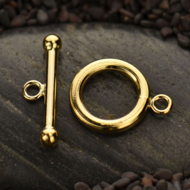 Medium Toggle Clasp - 14K Gold Filled