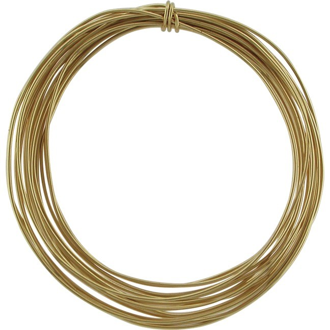 14K Gold Filled Dead Soft Wire - .5oz 26 Gauge 42ft