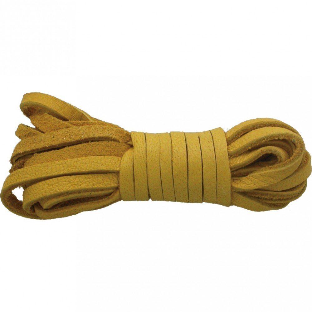Leather Cord - Blonde 3mm Deerskin Laces DISCONTINUED