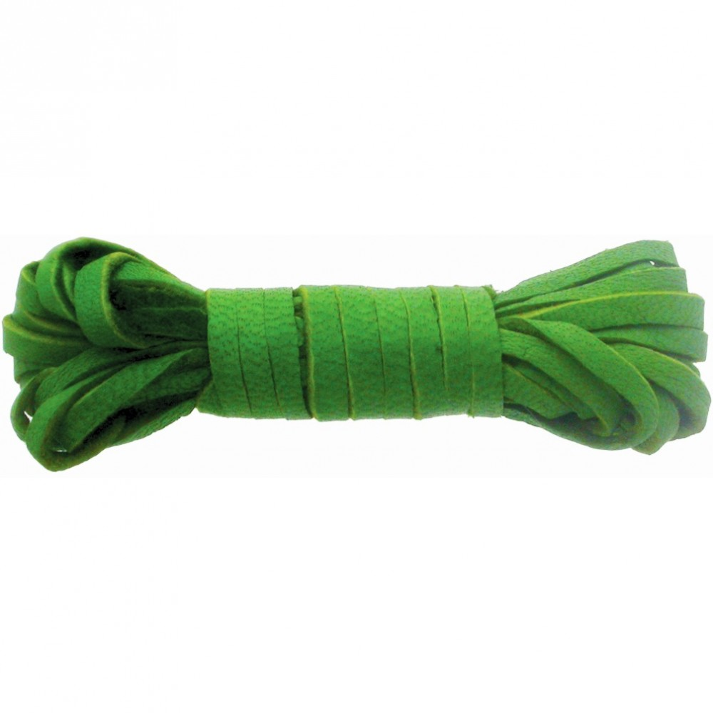 Leather Cord - Kiwi 3mm Deerskin Laces DISCONTINUED