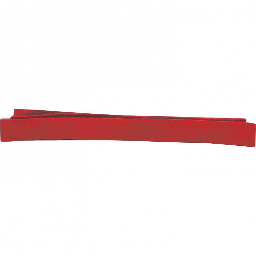 Leather Cord - Red 1cm Deerlace DISCONTINUED