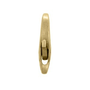 Medium Oval Lobster Clasp - Brass