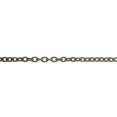 Brass Cable Chain - 25 foot Spool