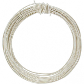 Sterling Silver Dead Soft Wire - .5oz 22 Gauge