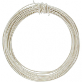 Sterling Silver Dead Soft Wire - 1oz 22 Gauge