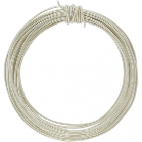Sterling Silver Dead Soft Wire -  .5oz 26 Gauge