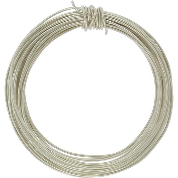 Sterling Silver Dead Soft Wire - 1oz 26 Gauge
