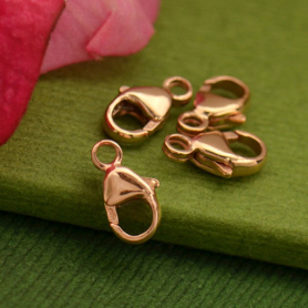 Small Lobster Clasp - 14K Rose Gold Filled