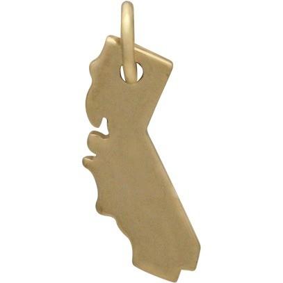 California State Jewelry Charm - Bronze