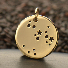Sagittarius Constellation Jewelry Charms - Bronze 18x15mm