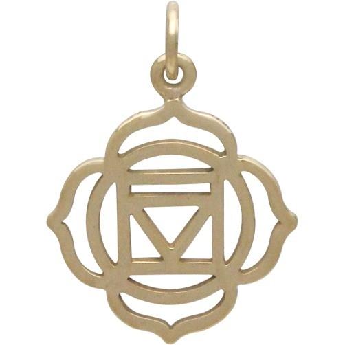 Root Chakra Jewelry Charm - Bronze