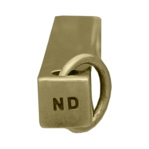 Rectangular Jewelry Pendant - Bronze