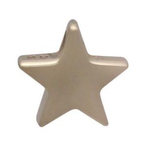 Small Star Bead - Bronze
