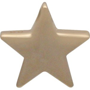 Large Star Bead - Bronze