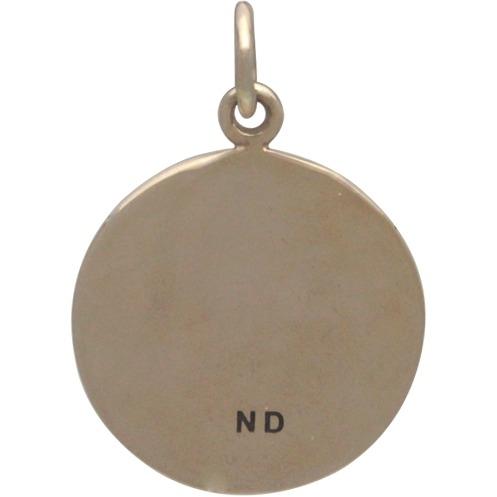 Big Dandelion Jewelry Charm - Bronze 20x15mm