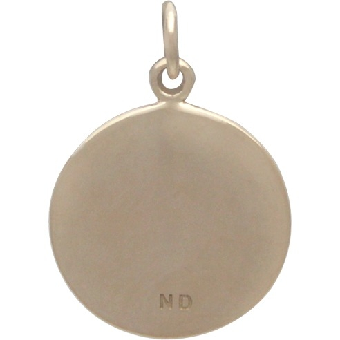 Not All Who Wander Message Pendant - Bronze DISCONTINUED