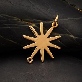 Bronze Sun Link 28x16mm