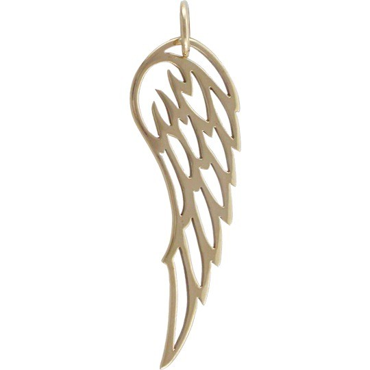 Large Wing Jewelry Charm - Bronze DISCONTINUED