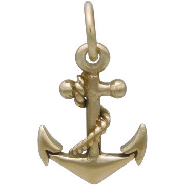 Anchor Jewelry Charm - Bronze