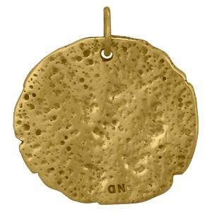 Ancient Pegasus Coin Charm - Bronze 24x22mm