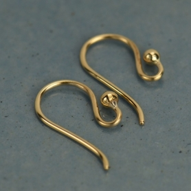 Natural Bronze Simple Hook Earring