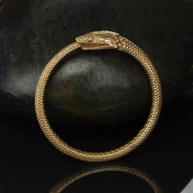 Bronze Ouroboros Ring